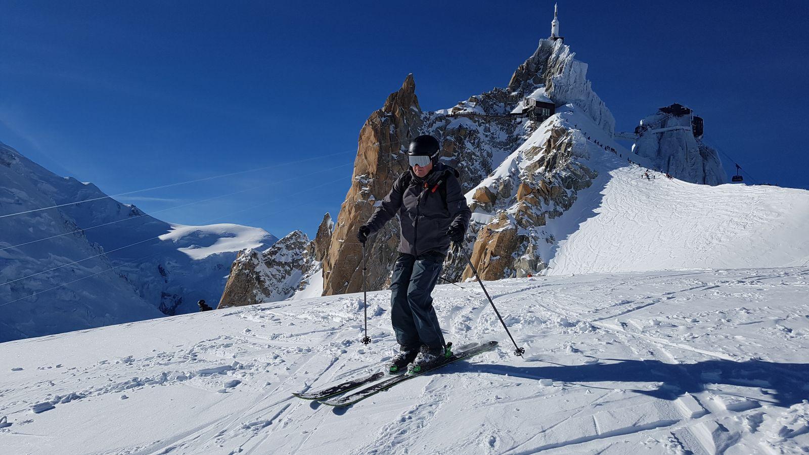 Vallee Blanche Envers Du Plan Glacier