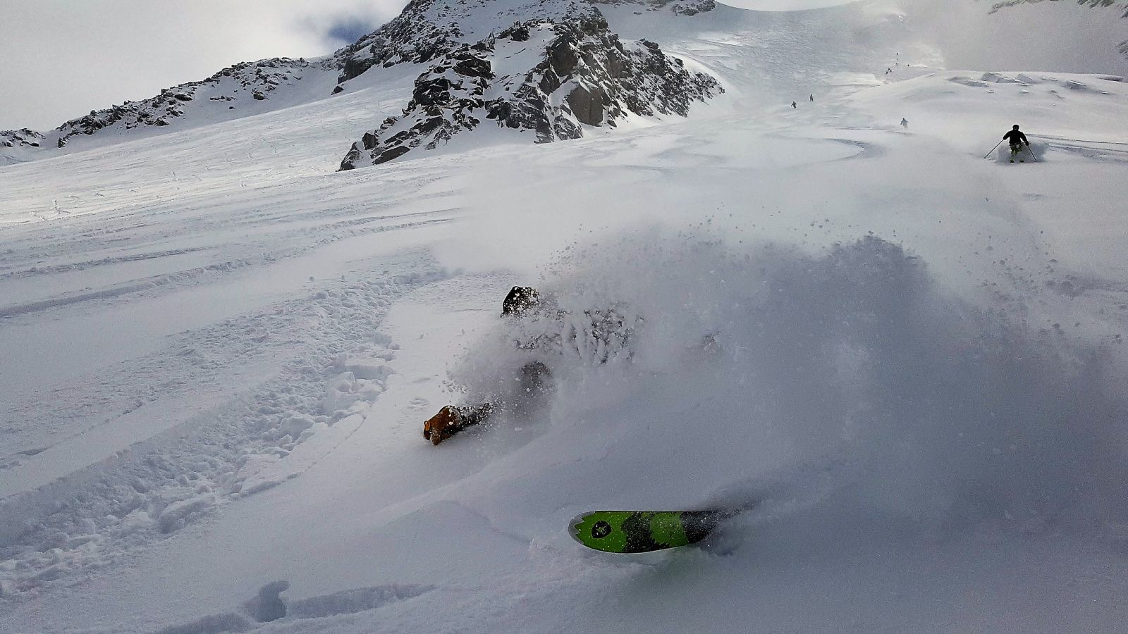 grands montets powder snow