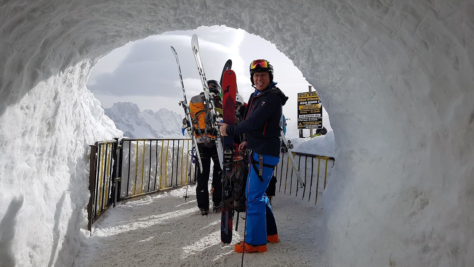 tunnel vallee blanche
