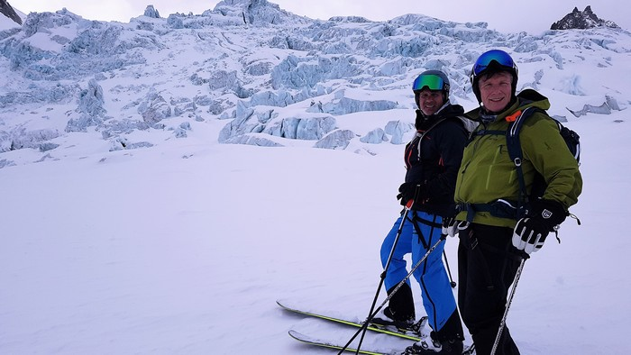 vallee blanche icefall
