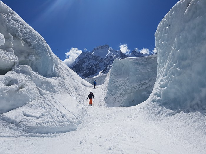 vallee blanche canyon