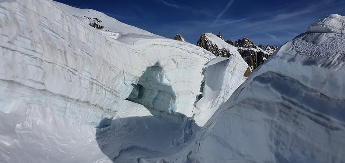 seracs vallee blanche