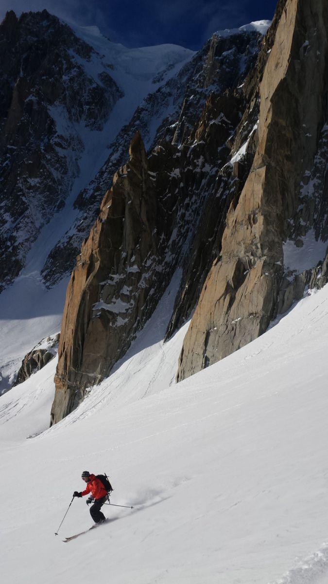 valle blanche glacier du Géant